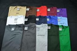 1 Shaka Wear Super Max Heavy Weight T-shirts Color Plain Bla