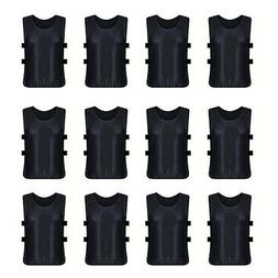 12x Lot TopTie Adult Scrimmage Training Vest with Waistband