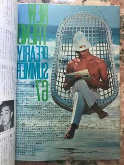 1967 Japan Men's Fashion Magazine Vintage preppy mod style P