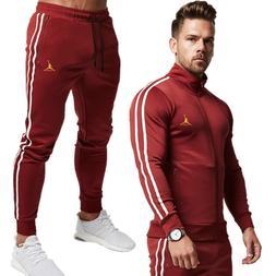 2 Piece <font><b>Men</b></font> Hoodies+Pants Sport Suit Jor