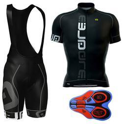 2018 Men Team cycling jersey Sport Clothing MTB Bike 9D Pad