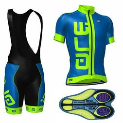 2019 Cycling Race Clothing Set Men's Bike Jersey Pad Bib Sho