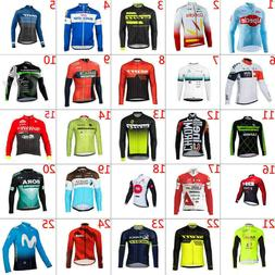 2019 Men's Cycling Clothing Breathable Cycle Jerseys Long Sl