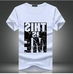 2019 new Brand Clothing Men T-shirt Swag T-Shirt Men Cotton