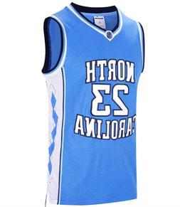 RAAVIN #23 North Carolina Mens Basketball Jersey Retro Jerse