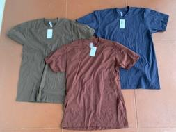 3 new mens american apparel 2001 t
