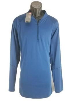 $45 Under Armour Men's MK-1 1/4 Zip, Moroccan Blue New Fitte