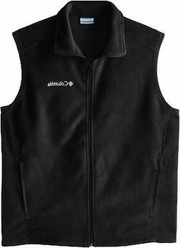 Columbia Men's Steens Mountain Full Zip Soft Fleece Vest, Bl