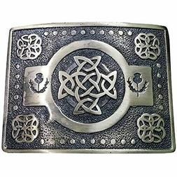aar scottich kilt belt buckle celtic knot