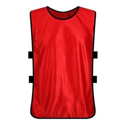 adult scrimmage training vest football soccer jersey