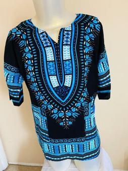 African Dashiki Shirts Dress Boho Kaftan Festive Clothing