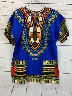 African Tribal Shirt Unisex Dashiki Print Succinct Hippie To