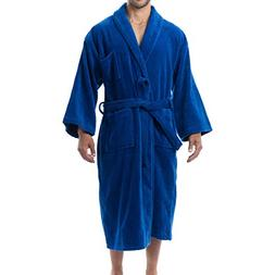 alpine swiss Aiden Mens Cotton Terry Cloth Bathrobe Shawl Co