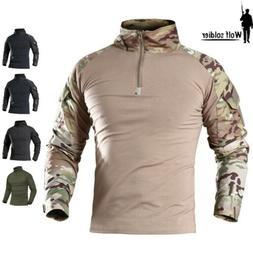 Airsoft Tactical Shirt T-Shirt Men Army Combat Shirt Casual