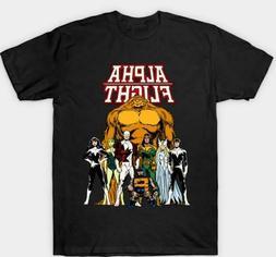 alpha flight t shirts 100 percent cotton