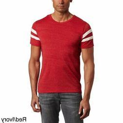 Alternative Apparel Men's Eco-Jersey Football T-Shirt