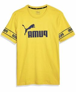 PUMA Amplified Men's Big Logo Tee Men Tee Basics