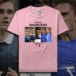 Antoine Griezmann t shirt 2018 jerseys French Madrid <font><