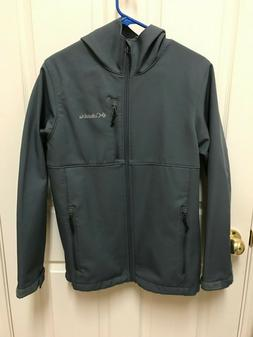 Columbia Ascender Hooded Softshell Jacket Men's Small Graphi