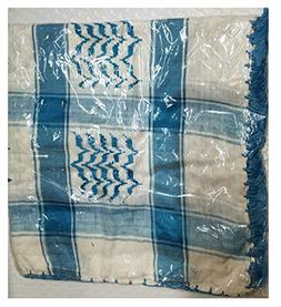 Bethlehem Gifts TM Authentic Large Middle Eastern Shemagh Ar
