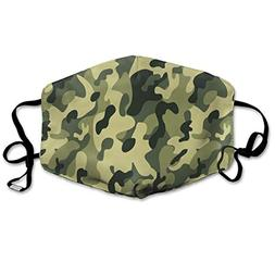 Awesome Camouflage Aar Suitable for Men and Women Flu Dust F