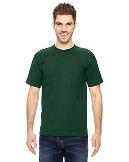 Bayside BA7100 T Shirt Men's 6.1 oz. Basic Pocket T-Shirt NE