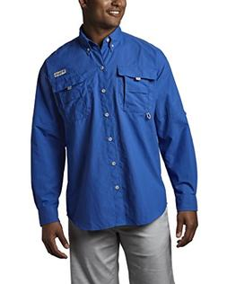 Columbia Bahama II Long Sleeve Shirt with Omni-Shade for Men