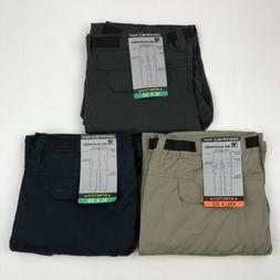 BC Clothing Men's Convertible Pants Stretch Relaxed Fit Gray