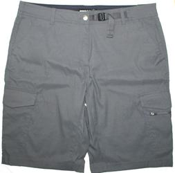 BC Clothing Men's Expedition Casual Shorts, Color: Grey