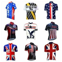 Bicycle Cycling Jerseys Breathable Short Sleeve Clothing Spo