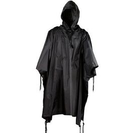 BLACK Military USMC G.I Style All Weather Poncho Raincoat Ri