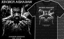 Black Panther Chadwick Boseman wakanda forever t-shirt tribu