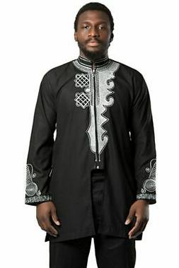 Black Panther Inspired Men's African Clothing Wakanda Wear M