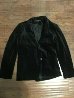 Black Velvet Blazer for Men Jacket From Urban Outfitters, St