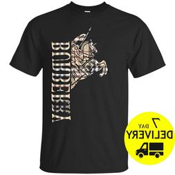 Burberry T-Shirt London Knight Casual Men's Clothing T-Shirt