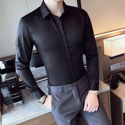 Business <font><b>Shirts</b></font> 2019 New Fashion Brand <