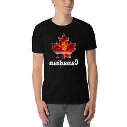 Canada Day Flag Canadian Lovers Maple Logo Unisex Cotton Clo