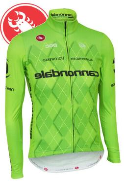 Cannondale Men's Long Sleeve Cycling Jersey by Castelli All