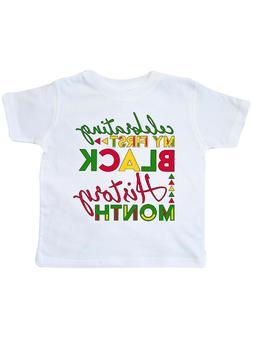 Celebrate Black History Clothing T-Shirt Children Accessorie