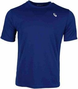 ASICS Circuit 8 Short Sleeve  Athletic Running  Tops - Blue