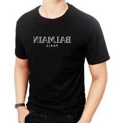 Clothing Men's logo balmain4753 paris T-Shirts Men