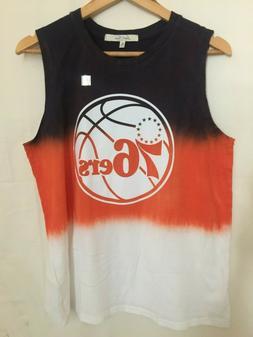 Junk Food Clothing Men's NBA Philadelphia 76ers Basketball T