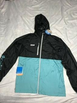 COLUMBIA OMNI SHADE JACKET BLUE MEN SIZE SMALL NEW! UV PROTE