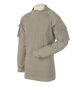 Voodoo Tactical Combat Shirt with 1/4 Zip Sand Mens Small Ne