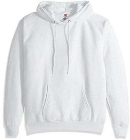 Hanes ComfortBlend EcoSmart Pullover Hoodie Sweatshirt Ash M