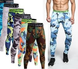 Compression Pants Base Under Layer Men Sports Apparel Long F