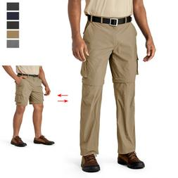 convertiable mens quick drying zip off hiking