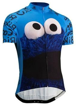 cookie monster men s full zip cycling