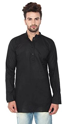 cotton mens short kurta shirt india clothes