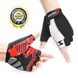 ZOOKKI Cycling Gloves Mountain Bike Gloves Road Racing Bicyc